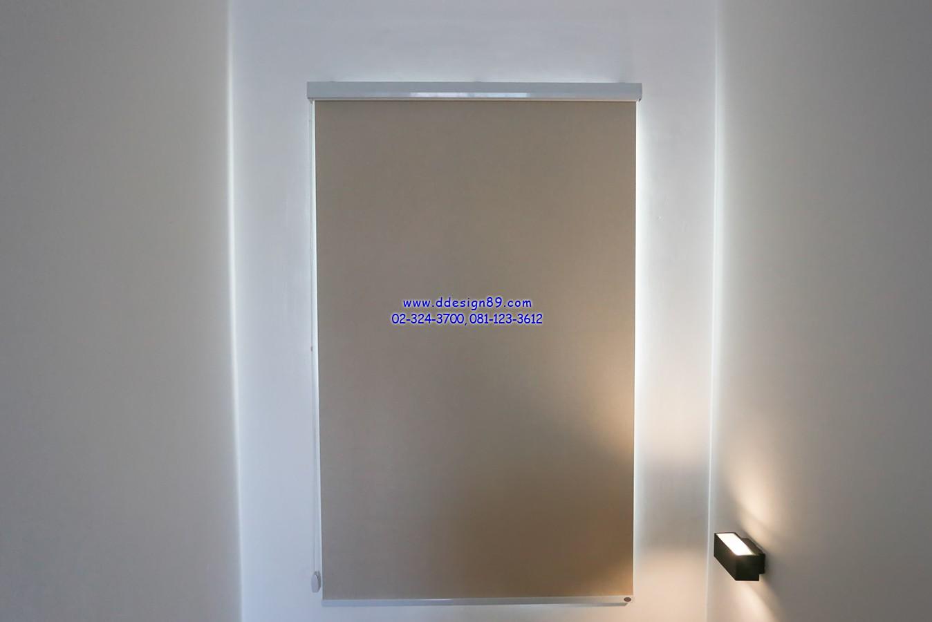 ม่านม้วนติดในบ้าน ช่วยพรางสายตา ป้องกันความร้อนจากแสงแดด ทั้งยังใช้งานง่ายจึงได้รับความนิยมอย่างมาก