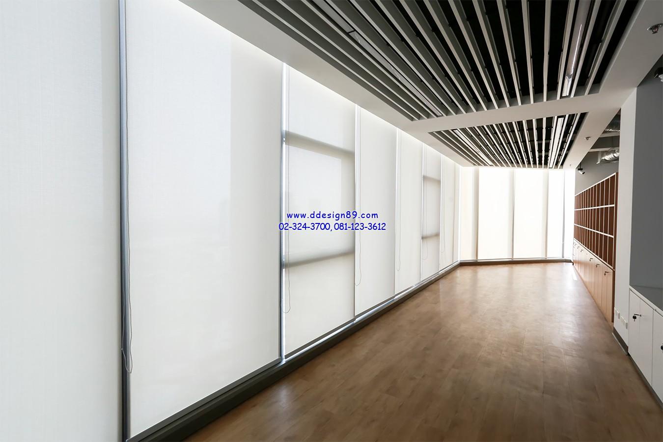 ลดอุณหภูมิภายในอาคาร ลดความร้อนจากแสงแดดบริเวณทางเดินริมหน้าต่าง