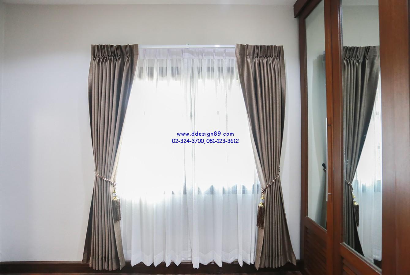 ติดม่านในบ้าน ของตกแต่งเล็กๆน้อยๆอย่างสายรวบม่าน ทำให้ห้องดูหรูหราขึ้นอีกระดับ