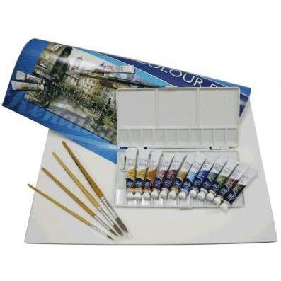 อุปกรณ์การเรียนคอร์สสีน้ำ