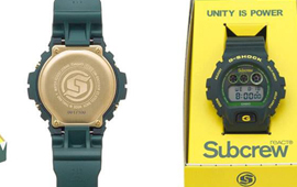 Subcrew×G-Shock **Sharkmarine** DW-9600SCR-3DR Limited edition. By : Subcrew Eyes Wear
