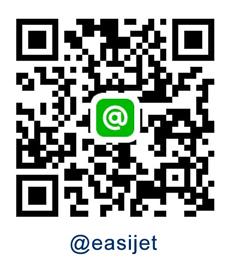 QR Code Line @easijet