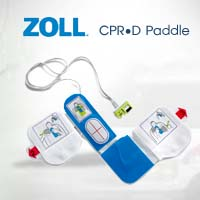 AED ZOLL PLUS CPRD Paddle