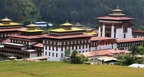 Tashichho Dzong, Thimphu, Bhutan