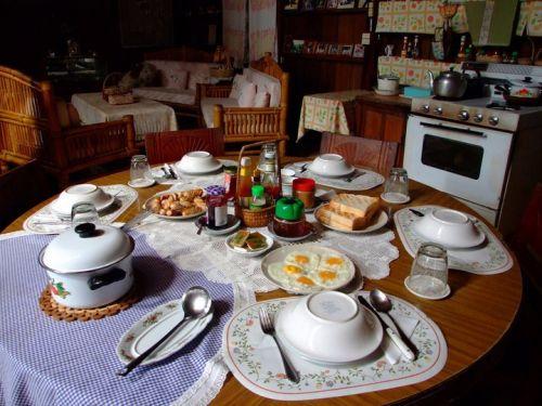 เหมืองสมศักดิ์ บ้านป้าเกลน (อาหารเช้าหรูระดับโรงเเรม)