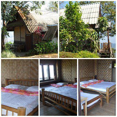 ภูลังกา รีสอร์ท บ้านภู 3  ( มี 3 ห้องนอน/3 ห้องน้ำ )  1เตียงเล็ก+1เตียงใหญ่ เเละ เครื่องทำน้ำอุ่น