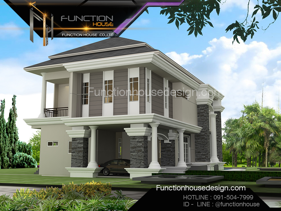 ออกแบบบ้านหรู
