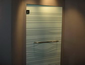 ประตูกระจกลวดลาย Glass Effexts