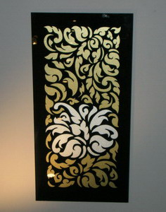 Thai Pattern on Glass by Glass Effexts