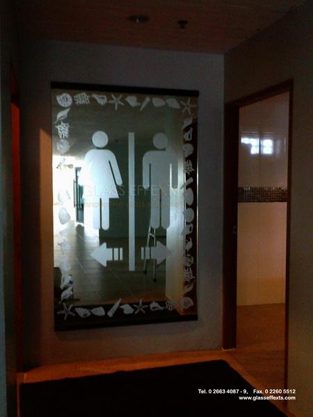 ป้ายห้องน้ำ by Glass Effexts