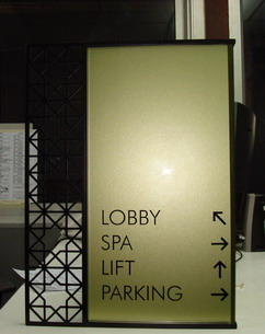 Glass Signage by Glass Effexts