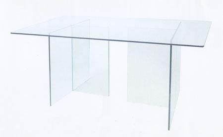 โต๊ะกระจกเทมเปอร์