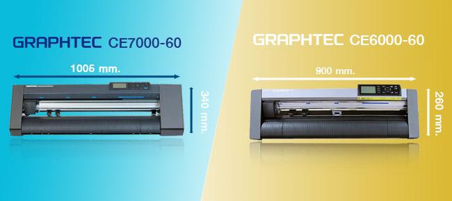 เปรียบเทียบเครื่องตัดสติ๊กเกอร์ce7000-ce6000