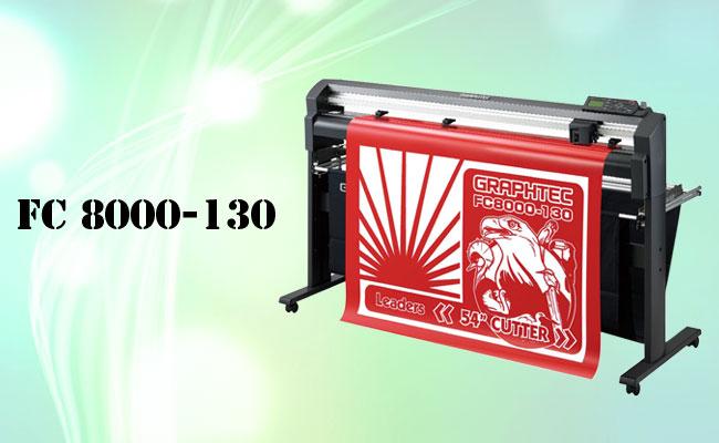 เครื่องตัดสติ๊กเกอร์รุ่น FC 8000-130,เครื่องตัดสติ๊กเกอร์,ตัดสติ๊กเกอร์,สติ๊กเกอร์,cutting machine,เครื่องตัดsticker,sticker,flatbed cutting machine,graphtec