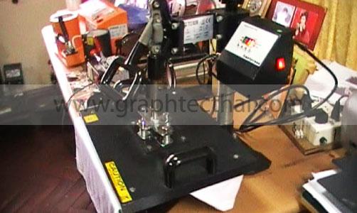 ใช้เครื่องอัดความร้อน, press machine, สติ๊กเกอร์รีดติดเสื้อ, hotsticky, ตัดhotsticky, เครื่องตัดสติีกเกอร์