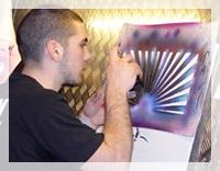 Air brush,แอร์บรัช,พู่กันลม,ปั๊มลมแอร์บรัช,แอร์บรัช(Airbrush),ชุดอุปกรณ์แอร์บรัช,ปืนพ่นสี แอร์บรัช