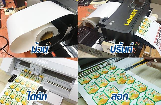 เครื่องพิมพ์สติ๊กเกอร์ลาเบล