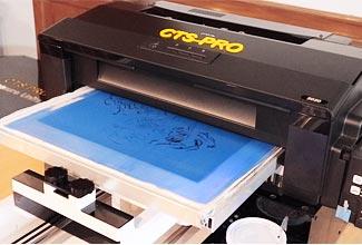 เครื่องพิมพ์บล็อกสกรีน