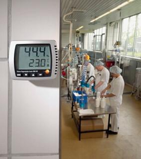 เครื่องวัดอุณหภูมิแบติดผนัง testo608-H1