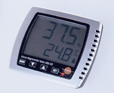 เครื่องวัดอุณหภูมิแบบติดผนังtesto 608-H2