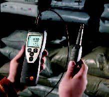 เครื่องวัดอุณหภูมิแบบพกพา testo 625