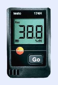 เครื่องวัดและบันทึกอุณหภูมิความชื้น testo 174-H