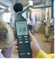 เครื่องวัดเสียง  Sound level meter   testo 815