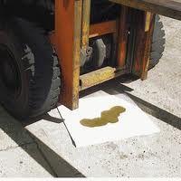 วัสดุดูดซับน้ำมัน Oil Absorbent - แบบแผ่น