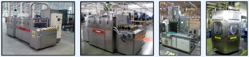 ใช้ได้กับเครื่องล้างอัตโนมัติ Part Washer Machine
