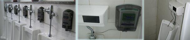 กำจัดกลิ่น Urinal Sanitizer Dispenser