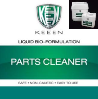 Part Cleaner สูตรล้างชิ้นงาน ชิ้นส่วนต่างๆ โดยเฉพาะการล้างคราบมัน น้ำมัน ไขมัน พร้อมการป้องกันการเกิดสนิม ไม่เป็นอันตรายต่อผู้ใช้ และย่อยสลายน้ำมัน สิ่งสกปรกต่อเนื่อง ช่วยเสริมประสิทธิภาพการบำบัดน้ำเสียไปในขั้นตอนเดียว