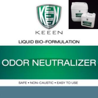 Odor Neutralizer สูตรสำหรับใช้ฉีดพ่นเพื่อกำจัดกลิ่น ทั้งกำจัดกลิ่นน้ำเสีย กำจัดกลิ่นกองขยะ กำจัดกลิ่นเหม็นตามบริเวณต่างๆ กำจัดกลิ่นโดยตรงที่ตัวกลิ่นทำให้กลิ่นเหม็นหายไปอย่างรวดเร็ว หากต้องการเพิ่มประสิทธิภาพให้ใช้ Odor Eliminator ฉีดบนแหล่งกำเนิดกลิ่นเพื่อลดปัญหากลิ่นจากต้นเหตุของการเกิดกลิ่นโดยตรง
