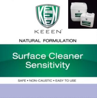 Surface Cleaner Sensitivity  สูตรสำหรับทำความสะอาดเอนกประสงค์ในบริเวณปลอดเชื้อ ห้อง Clean Room เช่น ทำความสะอาดในสายการผลิตอาหาร, ทำความสะอาดอุปกรณ์ที่ต้องสัมผัสกับอาหารโดยตรง, ทำความสะอาดแทนน้ำยาล้างจาน สามารถกำจัดคราบไขมัน กำจัดคราบมันและสารอินทรีย์ ช่วยทำให้การย่อยสลายสิ่งสกปรกของระบบบำบัดน้ำเสียทำงานมีประสิทธิภาพมากขึ้น