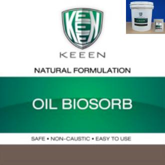 Oil Biosorb  วัสดุดูดซับน้ำมัน สกัดจากแร่ภูเขาไฟเคลือบด้วยจุลินทรีย์ย่อยน้ำมัน จึงสามารถดูดซับน้ำมันและย่อยสลายน้ำมันได้ในเวลาเดียวกัน ทั้งยังสามารถใช้งานซ้ำได้จนกว่าจะอิ่มตัว จึงประหยัดและลดค่าใช้จ่าย ความยุ่งยากในการกำจัดทิ้ง