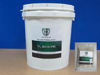 Oil Biosorb เป็นผง บรรจุในถังอย่างดี