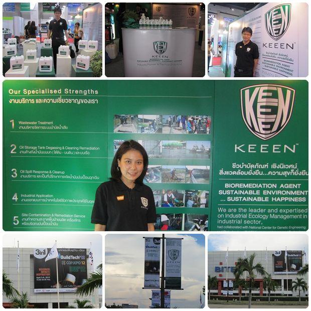 Green&Clean Solution ร่วมออกบูธกับ KEEEN ในงาน GREEN 4 U - 2012 มหกรรมสินค้ารักษ์โลก จัดขึ้นภายในงาน EnergySaving'12 ซึ่งในปีนี้จะจัดพร้อมกับ งาน BuildTech'12 และ ConXpo'12 (3 in 1) ที่จะจัดขึ้นในวันที่ 5-8 เมษายนนี้ เวลา 10.00-20.00น. ณ ไบเทค กรุงเทพฯ