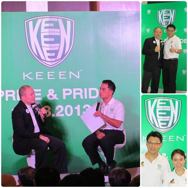 """งานแถลงข่าว KEEEN Prize & Pride : KEEEN ผู้นำ และผู้เชี่ยวชาญด้านการบริหารจัดการอุตสาหกรรมเชิงนิเวศน์ ซึ่งได้ร่วมมือกับผู้เชี่ยวชาญในด้านเทคโนโลยีชีวภาพ และการอนุรักษ์สิ่งแวดล้อมได้ทำการศึกษาวิจัย จนเกิดนวัตกรรมใหม่มีชื่อเรียกว่า """"สารชีวบำบัดภัณฑ์"""""""
