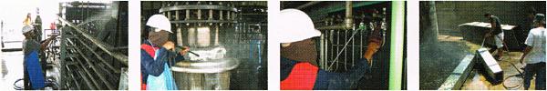 Site Contamination & Remediation Service  งานทำความสะอาดพื้นฝ่ายผลิต เครื่องจักร หรือบริเวณปนเปื้อนน้ำมัน