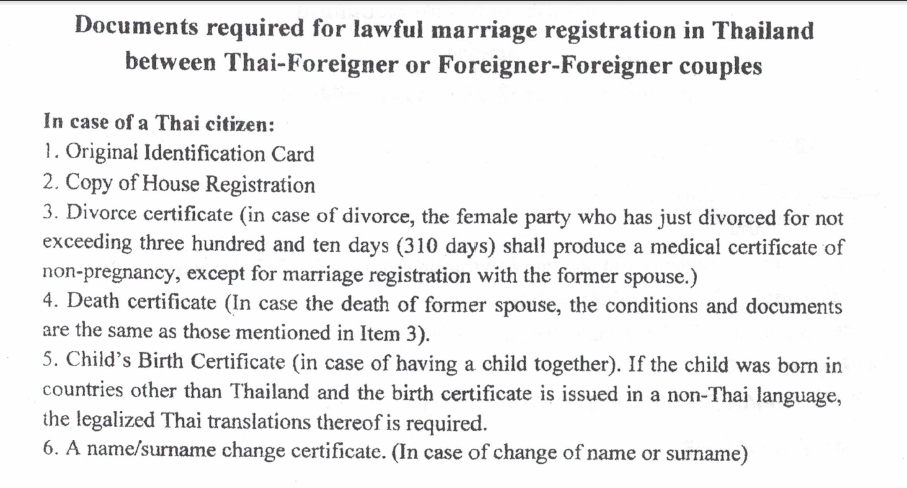 marriage registration in thailand 1