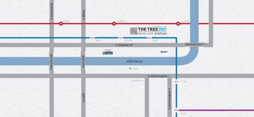The Tree RIO Bang-Aor Station เดอะ ทรี ริโอ้ บางอ้อ สเตชั่น