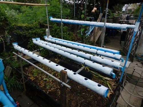 รางปลูกผักไฮโดร สร้างรางปลูกผักเอง ทำรางปลูกผักไฮโดรโปนิกส์เอง วิธีสร้างรางปลูกผักราคาถูก