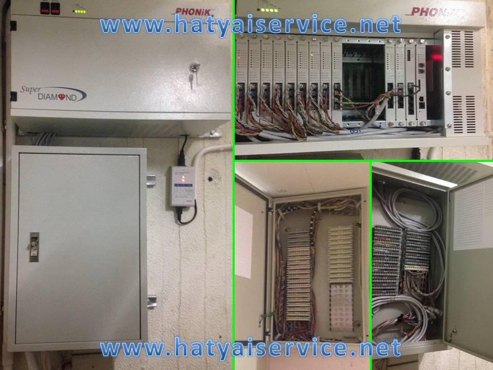ติดตั้งและจำหน่ายตู้สาขาโทรศัพท์ Phonik, NEC, Panasonic