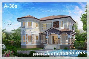 แบบบ้านสองชั้น,แบบบ้านสวย,แบบบ้าน,แปลนบ้าน,รับสร้างบ้าน,ออกแบบบ้าน