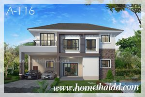 แบบบ้าน,แบบบ้านสองชั้น,แบบบ้านสวย,รับสร้างบ้าน,บริษัทรับสร้างบ้าน,แบบบ้านฟรี,Contemporary