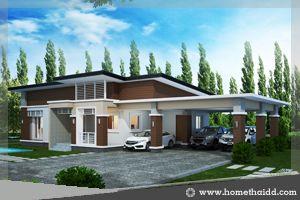 บ้าน,แบบบ้าน,บ้านชั้นเดียว,โมเดิร์น,แบบบ้านชั้นเดียว,รับสร้างบ้าน,แบบบ้านฟรี