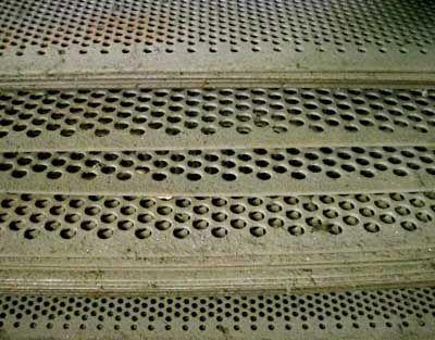 เหล็กแผ่นเจาะรู, perforated sheet