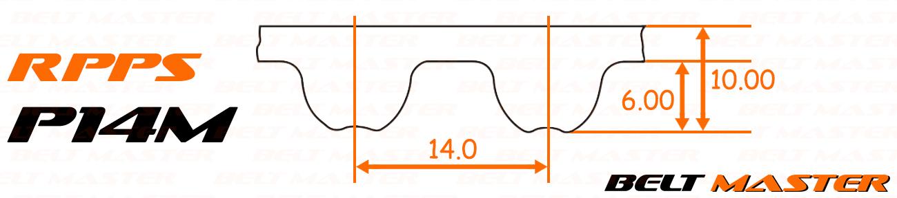 สายพาน BELT MASTER, Synchronous Belts, RPP, P2M, P3M, P5M, P8M, P14M, สายพานส่งกำลัง, สายพานฉุด, สายพานไทม์มิ่งฟันผ่า, สายพานราวลิ้น, สายพานตีนตะขาบ, สายพานฟันกลม