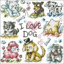 SO-3179-I love dog-11ct