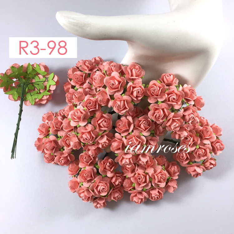 Salmon Red, Paper flowers, Scrapbooking and Craft Supply – Wholesale ...