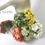 Mixed Orange / Dark Green / Soft Green / Yellow / White Flowers